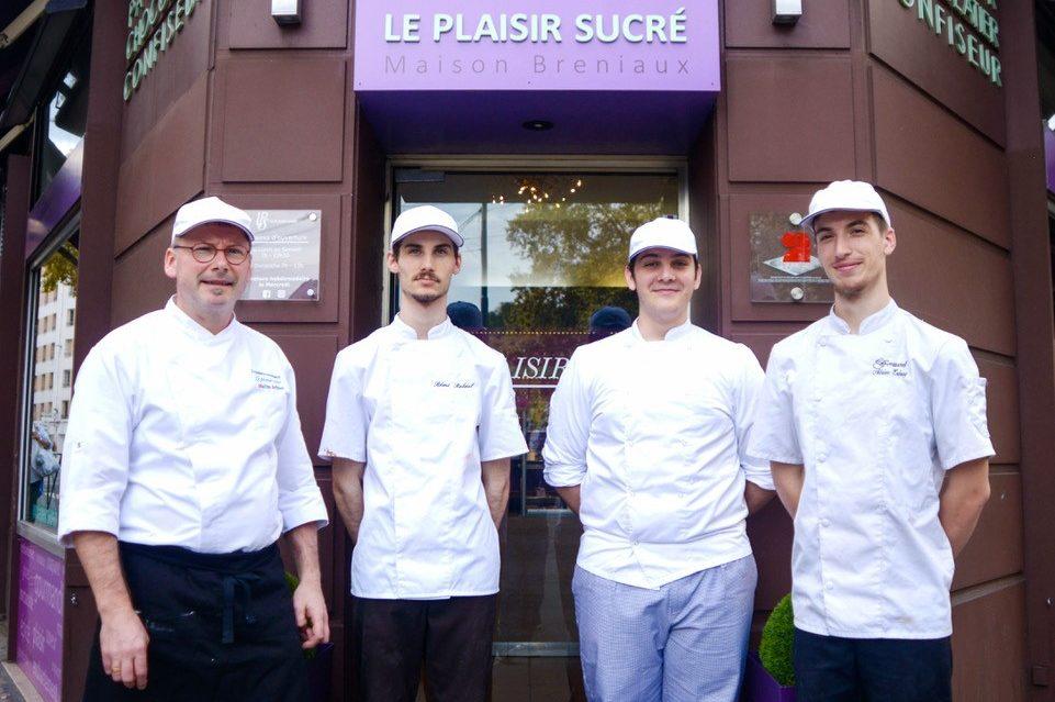 Equipe pâtisserie Bréniaux