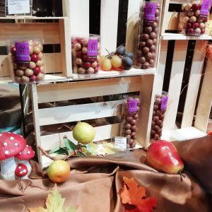 Fruits secs au chocolat